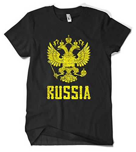 Cybertela Russia Coat Of Arms Men's T-shirt