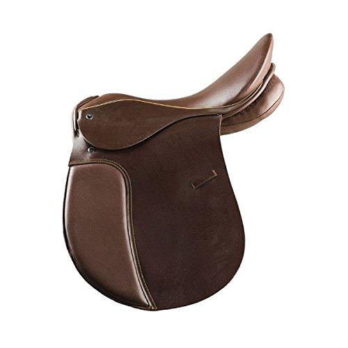 Black 14N Black 14N Horze Allround leather saddle w wooden tree