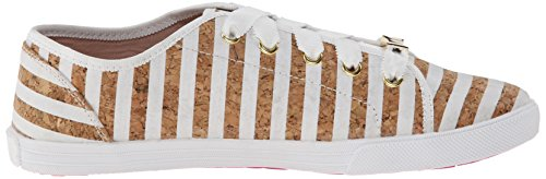 Kate Schoppen New York Dames Lodero Fashion Sneaker Wit