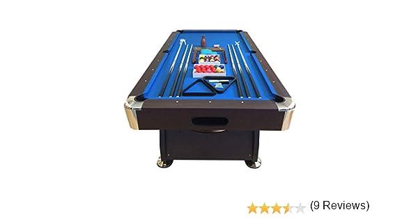 GRAFICA MA.RO SRL Mesa de Billar Juegos de Billar Pool 8 ft Modelo Vintage Azul Completo de Accesorios Carambola Medición de 220 x 110 cm EMBALADO: Amazon.es: Juguetes y juegos