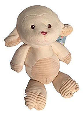 10'' Baby Lamb with Rattle by Kelly Baby (Image #1)
