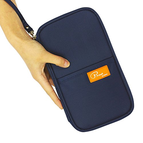 P.travel Passport wallet Oxford Navy with RFID Stop by P.travel (Image #3)