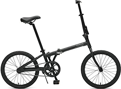 Critical Cycles Judd Folding Bike Single-Speed with Coaster Brake