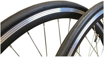 Juego de ruedas delanteras y traseras para bicicleta de carretera QR 700c, 7 velocidades Shimano Kenda 700 x 23c, neumáticos, tubos, cintas para el borde, rodamientos sellados, color rojo, azul, amarillo, verde,