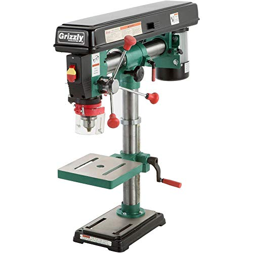 "Grizzly Industrial G7945-34"" Benchtop Radial Drill Press"