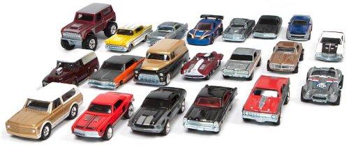 Hot Wheels Garage - Ford & GM 20 Classic US Car Box Set: Amazon.co ...