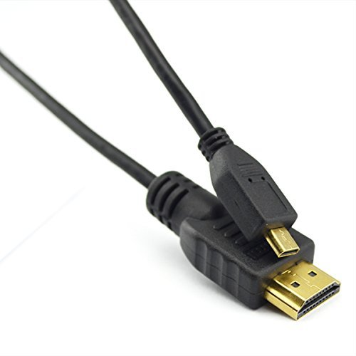 Laptone LCP2902 1m Premium Micro HDMI to HDMI Cable for Connecting Amazon Kindle/Tesco HUDL to TV LCD HDTV