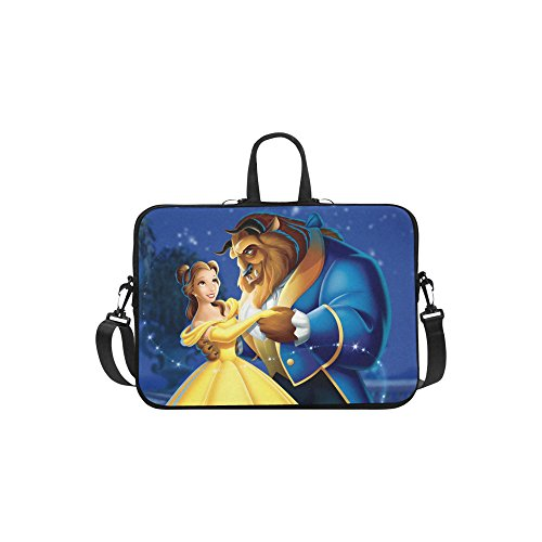 14 Beauty Case (Beauty and The Beast Sleeve Case Messenger Bag for Laptop 10