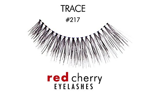 Red Cherry False Eyelashes #217 (Pack of 3 Pairs)