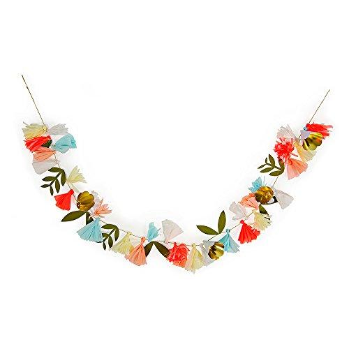 Meri Meri, Flower Bouquet Garland, Birthday, Party Decorations]()