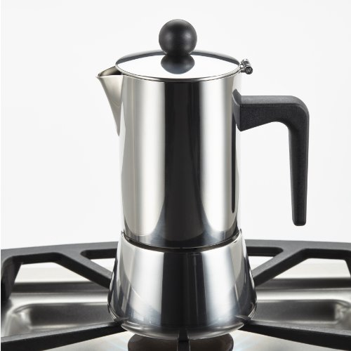 how to clean a stainless steel stovetop espresso maker