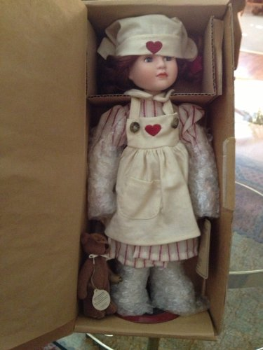 Boyds Bears Doll Catherine with Doolittle the Nurse Is in #4806 from The Yesterdays Child Doll Collection