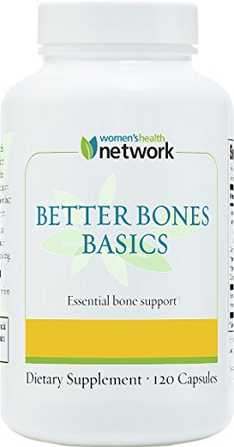 Better Bones Basics By Women's Health Network - Calcium, Magnesium, (Calcium Magnesium Zinc Benefits)