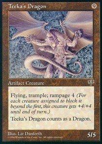 - Magic: the Gathering Teeka39;s Dragon - Mirage