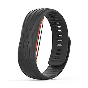 Ocamo Wristband Heart Rate Monitor Smart Watch Bluetooth 4.1 with USB Plug Black