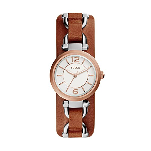 Fossil Women's ES3855 Georgia Artisan Three-Hand Watch With