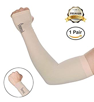 Apparel Accessories Men's Arm Warmers 1 Pair Tattoo Sleeve Arms Cover Summer Sunscreen Gloves Uv Outdoor Riding Hand Sleeve Seamless Ice Sleeves For Woman And Men Arm