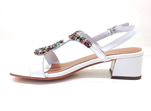 Apepazza - Sandalias de vestir para mujer Bianco