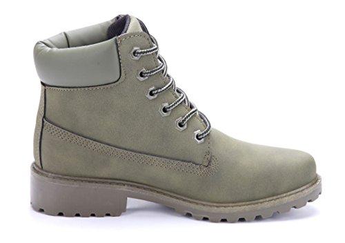 Schuhtempel24 Damen Schuhe Halbschuhe Blockabsatz Brogues 3