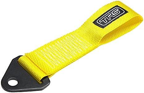 Yellow TRS-MOTORSPORT as Original TRS Abschleppschlaufe Racing Bumper Tow Eye Loop