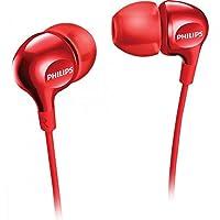 Philips SHE3700RD/00 Fone de Ouvido Intra-Auricular, Vermelho