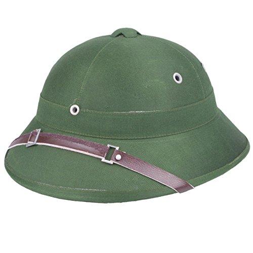 Heerpoint Reproduction Vietnam war army hat NVA Vietcong VC pith helmet green