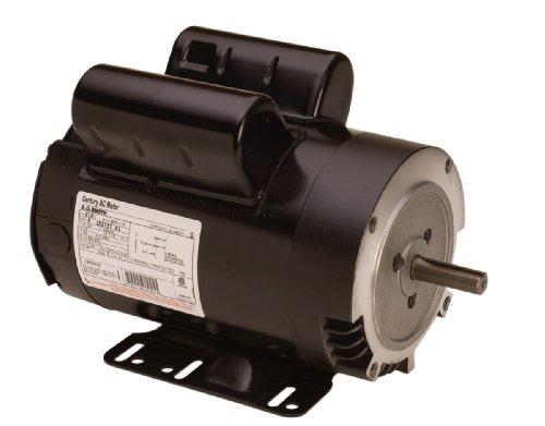 Century C215 Cap Start C-Face, 56C Frame, 2-HP, 1725-RPM, 115/230-Volt, 18-Amp, Ball Bearing Motor
