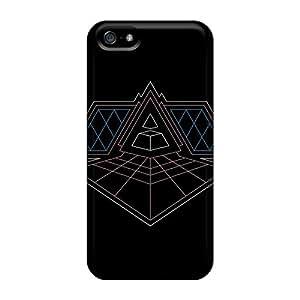 JamieBratt Iphone 5/5s High Quality Hard Phone Case Provide Private Custom Fashion Daft Punk Alive Skin [lmS17339wPJd]
