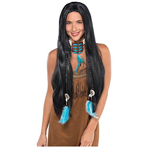 Native American Wig - Fun Costume Accessory