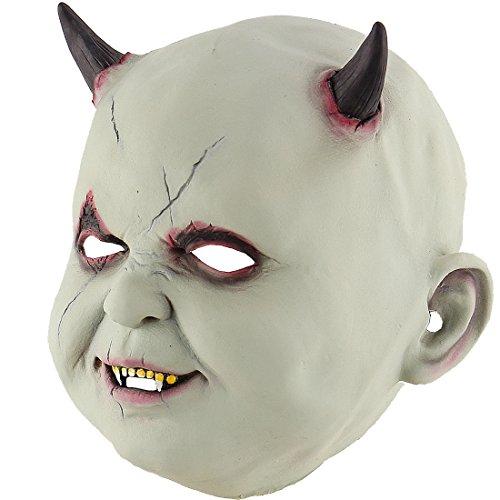 [Halloween Latex Head masks Gruesome Zombie Costume Cosplay Props Vampire Doll] (Ring Sadako Costume)