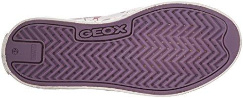 Rosa Ciak whitec0886 Girl Niñas Zapatillas Para fuchsia D Jr Geox paRxqa0