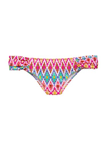 Victoria's Secret The Knockout bikini Large White Ground Ikat Foil (8PC )