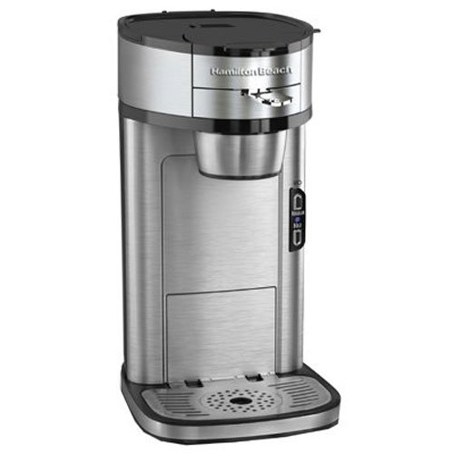 Hamilton Beach The Scoop Single Serve Coffeemaker Stainless