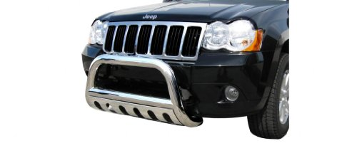 Steelcraft Stainless Steel Bumper Skid Plate Fits Brush Guard 08-10 JEEP GRAND CHEROKEE BULL BAR S/S