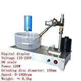 TOPCHANCES 0-1800rpm Upgrade Gem Faceting Machine Jewelry Polisher Jade Flat Grinder (Digital Display Machine)