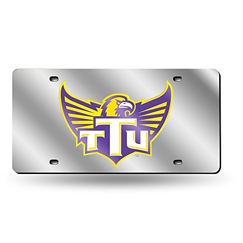 Rico NCAA Tennessee Tech Golden Eagles Laser Cut License Plate, Silver
