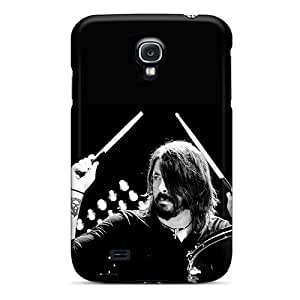 GBAzdBP6823JNRQh Case Cover, Fashionable Galaxy S4 Case - Dave Grohl On Drums