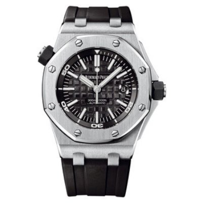 Audemars Piguet Royal Oak Offshore Diver Men's Watch 15703ST-OO-A002CA-01