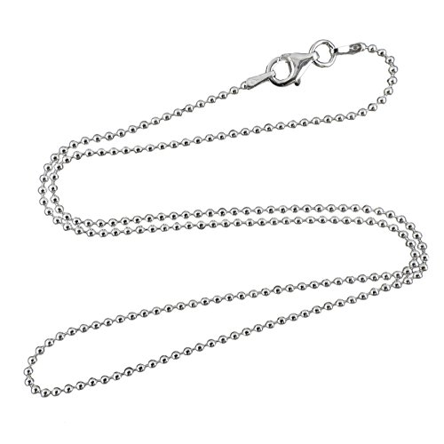 1.5 mm Ball Bead Chain - Available in 6 Sizes 16
