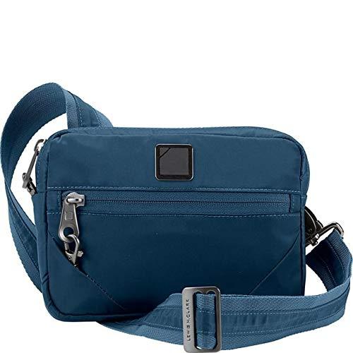Lewis N. Clark Secura RFID-Blocking Anti-Theft Commuter Cross Body Bag, Lake, One -