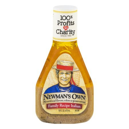 Newman's Own Salad Dressing, Family Recipe Italian, 16 Ounce (2 Pack)