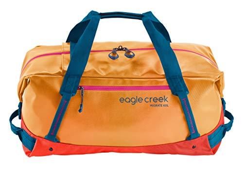 Eagle Creek Migrate Duffel Bag 60L Sahara Yellow (Small Recycled Duffle)