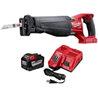 Milwaukee M18 FUEL 18-V Li-Ion Cordless SAWZALL Starter Kit