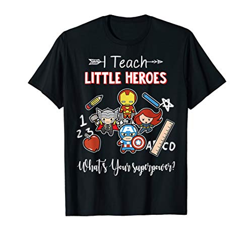 I Train Super Heroes Kids Teachers Shirts