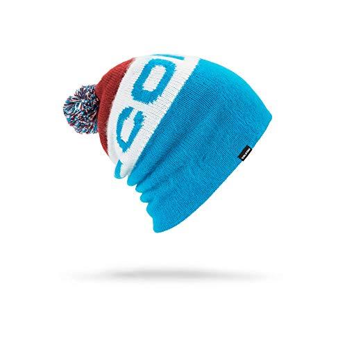 Volcom Beanie Winter (Volcom Men's Global Modern Fit Jacquard Beanie, Blue, One Size)