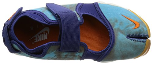 Nike Wmns Air Rift Prm Qs, Zapatillas de Deporte para Mujer Morado (Dk Prpl Dust / Cly Orng-Smmt Wht)