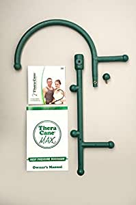 Thera Cane MAX: Trigger Point Massager (Green)