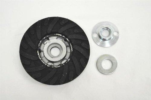 United Abrasives-SAIT 95011 4-1/2-Inch Backing Pad with Medium 5/8 SB, 1-Pack by United Abrasives- SAIT