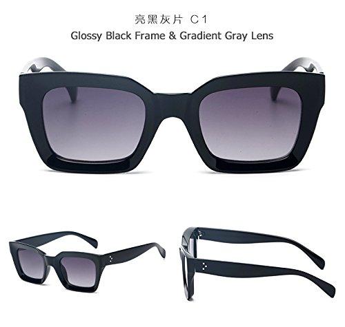 Shopping C1 Solnew Sol De Fiesta Gafas C1 Gafas Retro De De Box Viaje Sunglasses Gradient Viajes Senderismo De Ocio Limotai BEUxqIB
