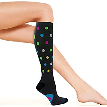 157a1a545d1ee Womens Compression Socks   Best for Nurse, Travel, Flights, Maternity,  Pregnancy,